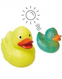 Schnabels® Quietsche-Ente UV-Farbwechsel